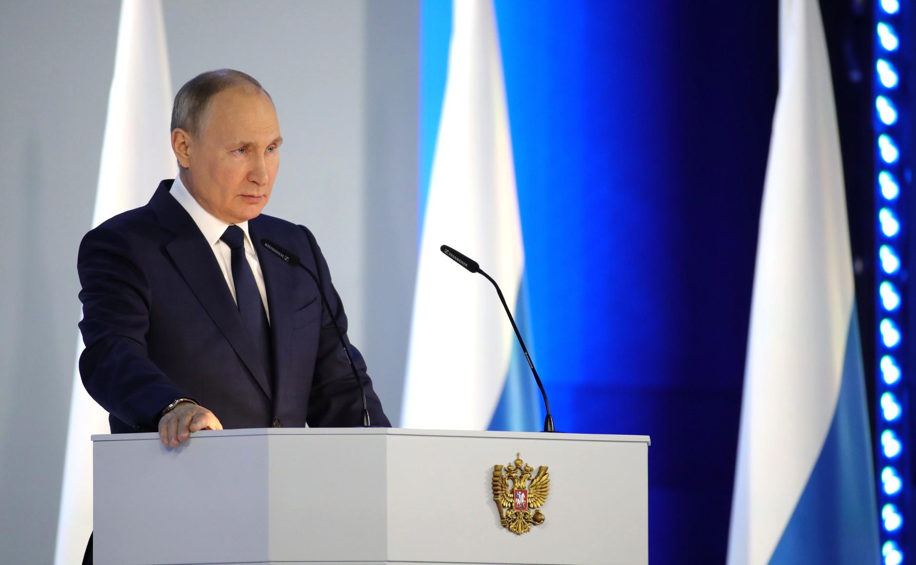 21 апреля – Послание Президента России Федеральному Собранию